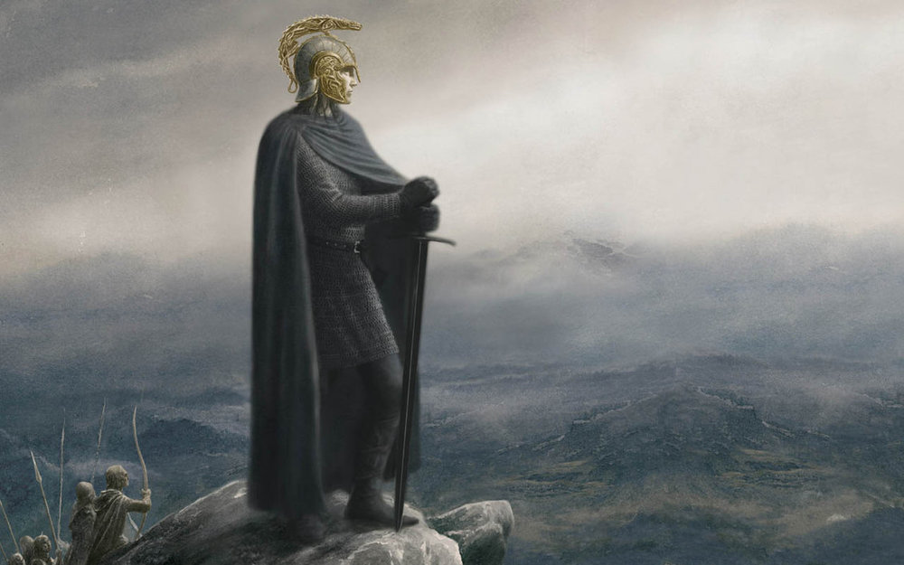 Ilustración de Alan Lee